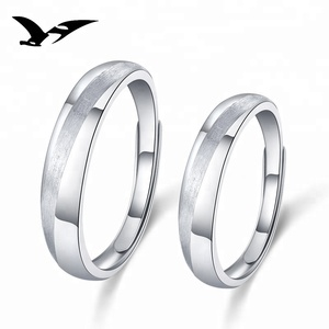 hot sell new arrival 925 sterling silver Fashion Couples ring