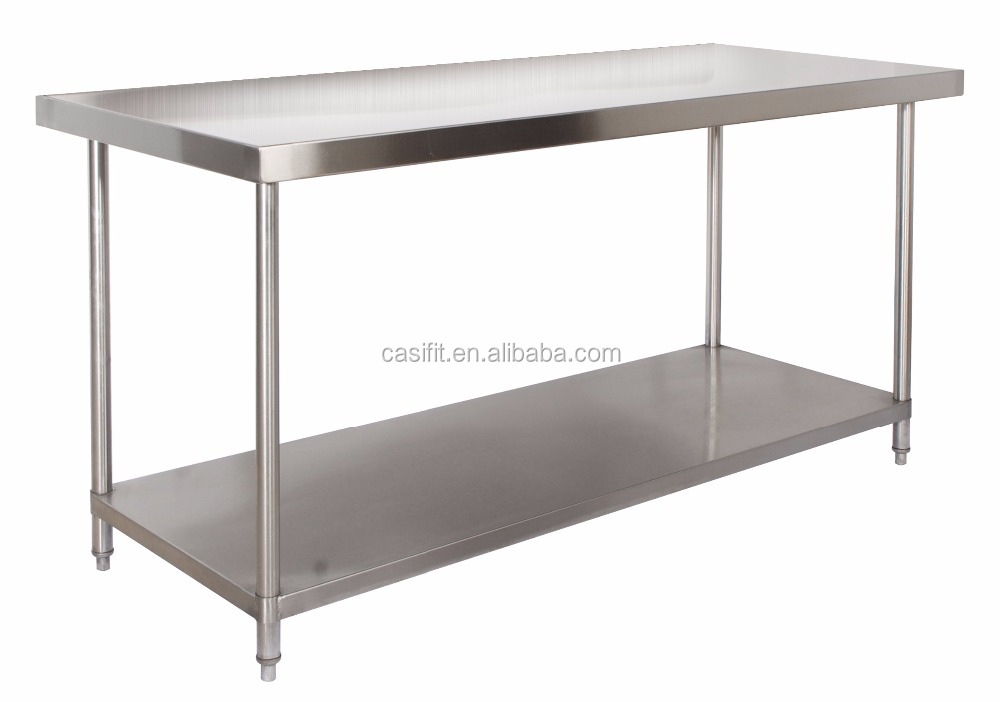 Chinese Stainless Steel Work Table With Removable Wheels   Buy Stainless  Steel Work Table With Under Shelf,China Stainless Steel Table,Work Table  Stainless ...