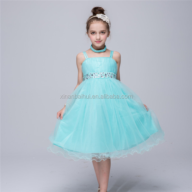 d85d092c5f1 Western style high-grade girl gown kids Party Dress for birthday red baby flower  girl dress for 3 years old