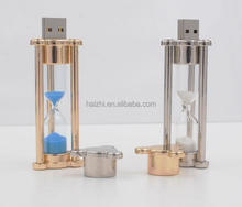 Hourglass time USB Special Gift usb Flash Memory with Logo