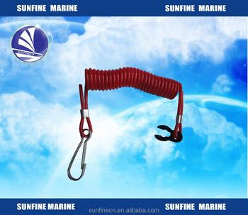 marine boat safety switch lanyard for outboard engine for. Black Bedroom Furniture Sets. Home Design Ideas
