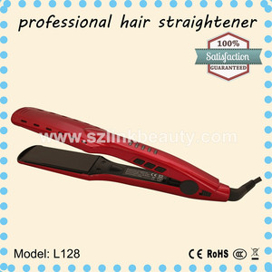 2015 new vapour infusion iron/steam hair straightener with argan oil