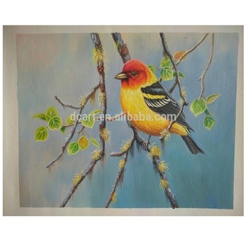 Oil Painting Of Beautiful Birds For Home Decoration Buy Art Wall Painting Bird Wall Painting Paintings Birds Of Oil Product On Alibaba Com