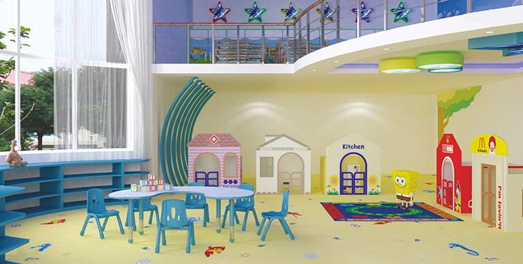 Aangepaste kleurrijke houten daycare meubels baby nursery school meubels