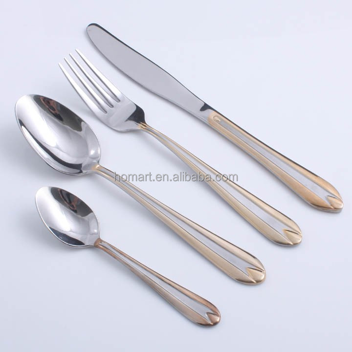 hot-sell stainless steel cutlery stock for hotel