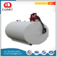High quality above ground diesel oil fiberglass fuel water tank