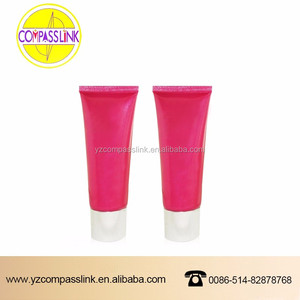 cute recycled PE packing tubes cosmetic plastic packaging