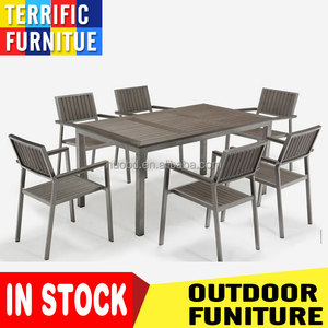 In stock Turkey garden furniture outdoor plastic chair used patio furniture