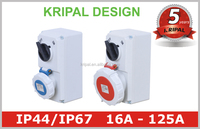 Mechanical Interlock Industrial Power Switched Sockets