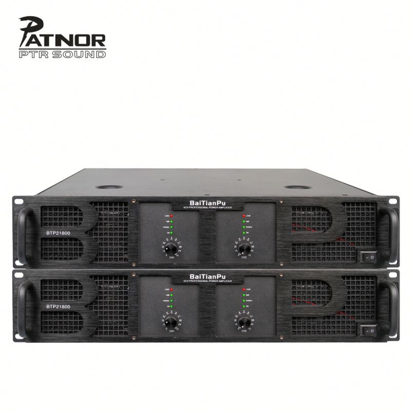 Fabriek Amplificador 2000 w Audio Eindversterker In Professionele