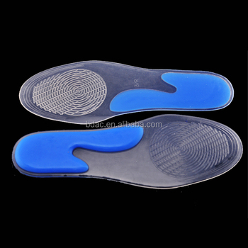 plane thin foot care medical heel spur plantar fasciitis medical gel silicone insoles