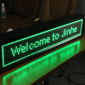 P10 LED Circle Scrolling Text Display/P10 3 75 LED Strip Display Screen