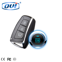 High quality start/stop engine push button keyless entry car auto alarm remote car starter