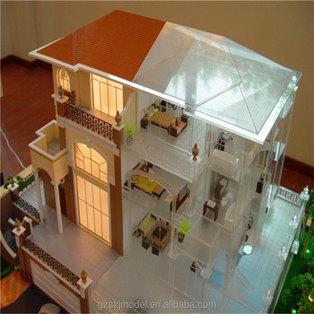 Interior Design Model With House 3d Model In High Quality Scale Model Kit