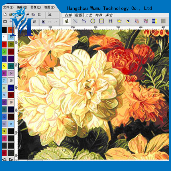 Electronic jacquard design software graphic design apparel CAD software