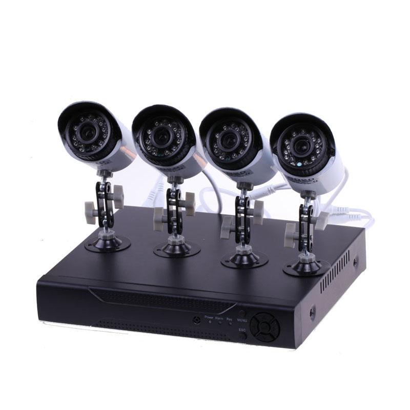 Производитель ahd 720p ночное видение комплект видеонаблюдения 4ch cctv системы для безопасности камера системы