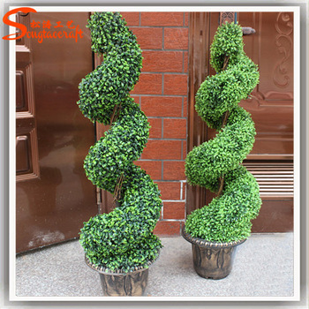 artificial topiary frame ornamental fake artificial plastic plants Artificial Shrubs and Plants