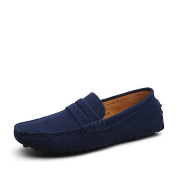 2e70779dfc10e Amazon Hot Sell Men Slip-on Suede Leather Loafers Shoes Customize Your Logo  Brand - Buy Men Slip-on Shoes,Loafers Shoes,Suede Leather Shoes Product on  ...