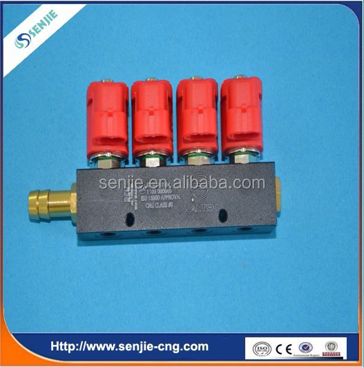 4cyl injection rail for cng/lpg single point system