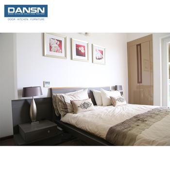 Populaire Classique Moderne Style Mdf Appartement Bois Plein Chambre