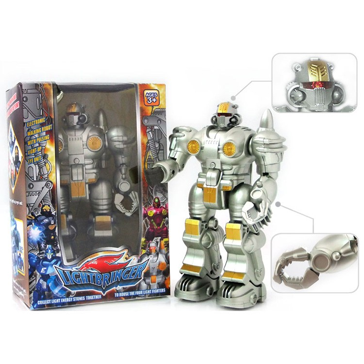 Fast Delivery Safe Material Walking Electronic Kid Toy Robot