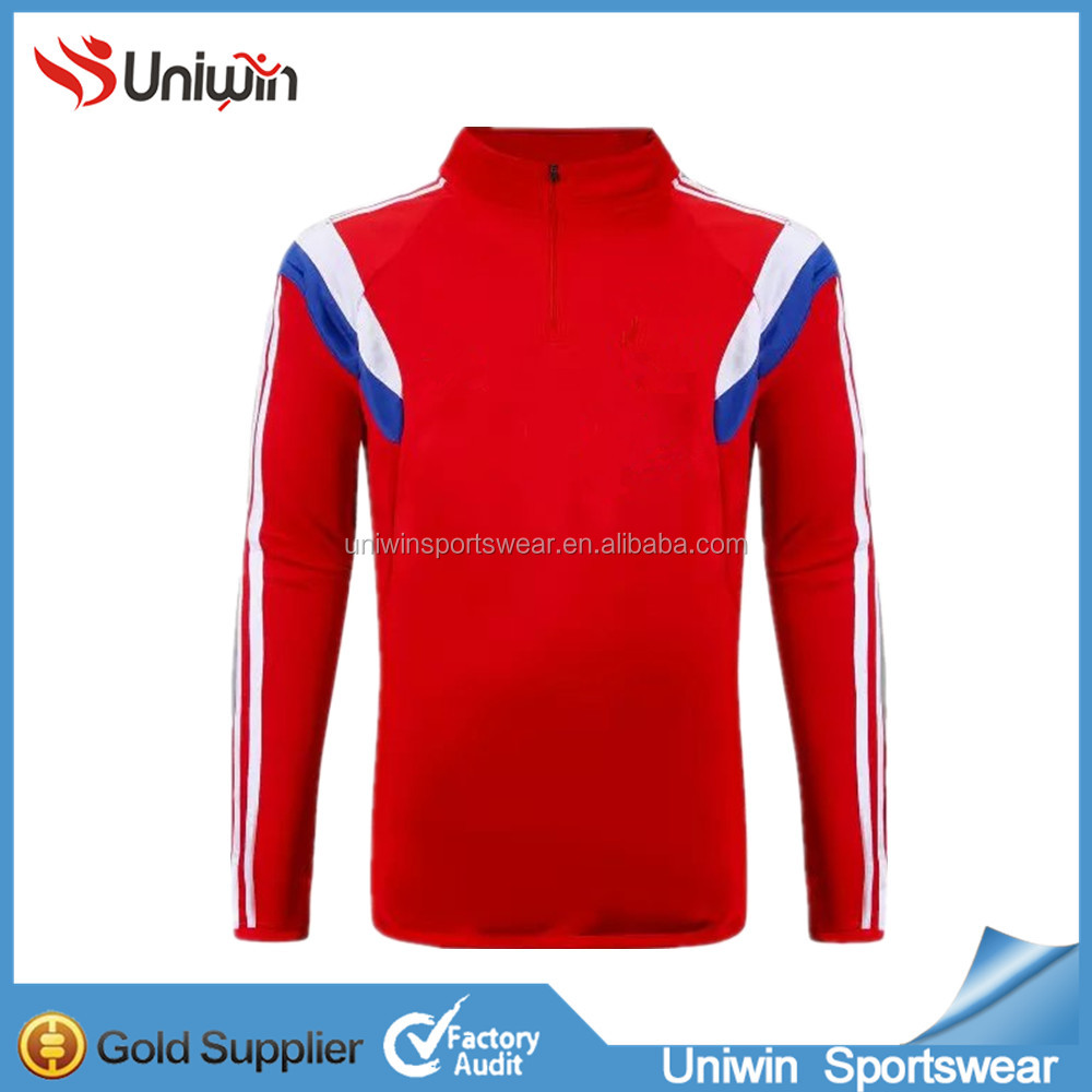 Thailand quality 2015 Hot sale red England club soccer jacket