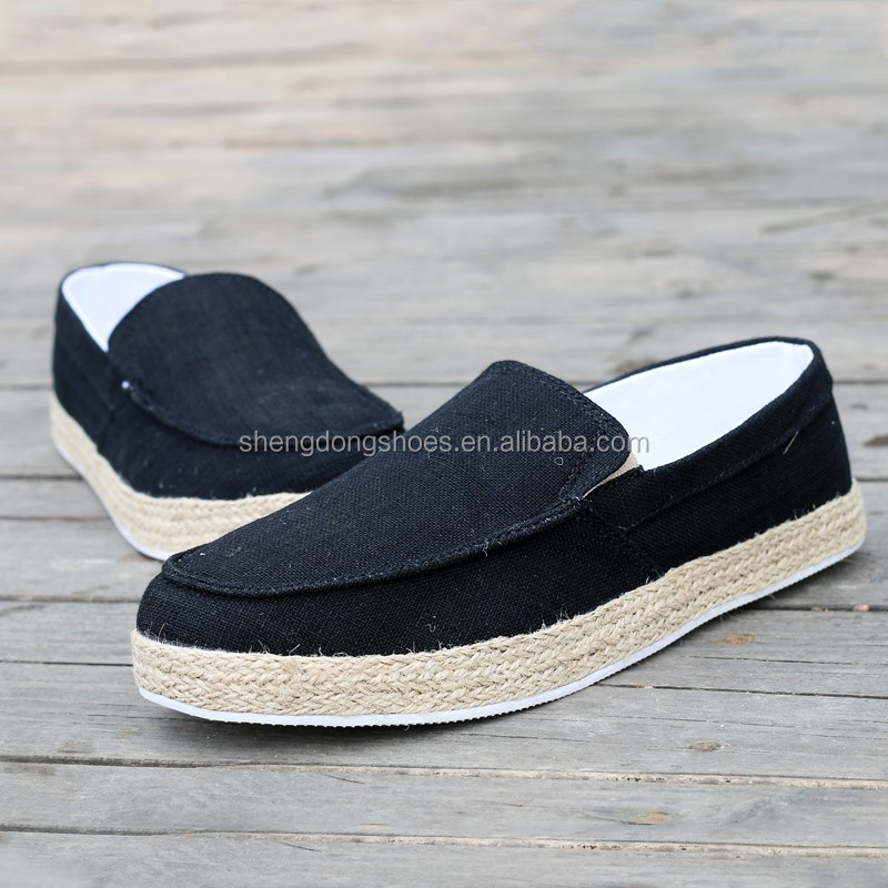 fashion 2017 new style canvas shoes for wholesale