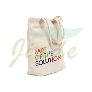 Wholesale custom printed 100% organic bulk canvas handmade cotton tote bags