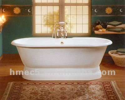 Cast Iron Enameled Bathtub Hm710