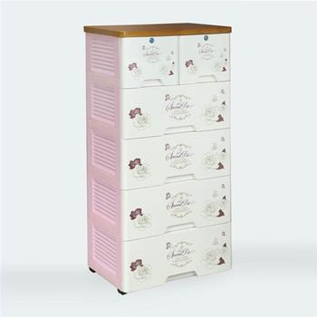 5 Layer Plastic Storage Drawer Box With