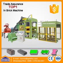 auto block making machine solid block machine QT10-15 automatic brick making production line