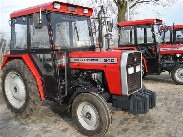 Massey Ferguson Tractor Mf 240(50h.p)with Cabin