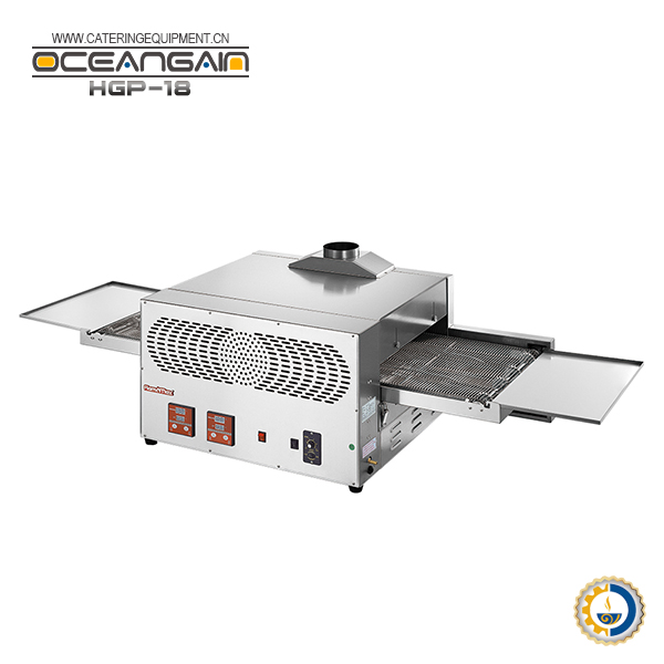 HGP-18 High efficiency gas conveyor pizza oven