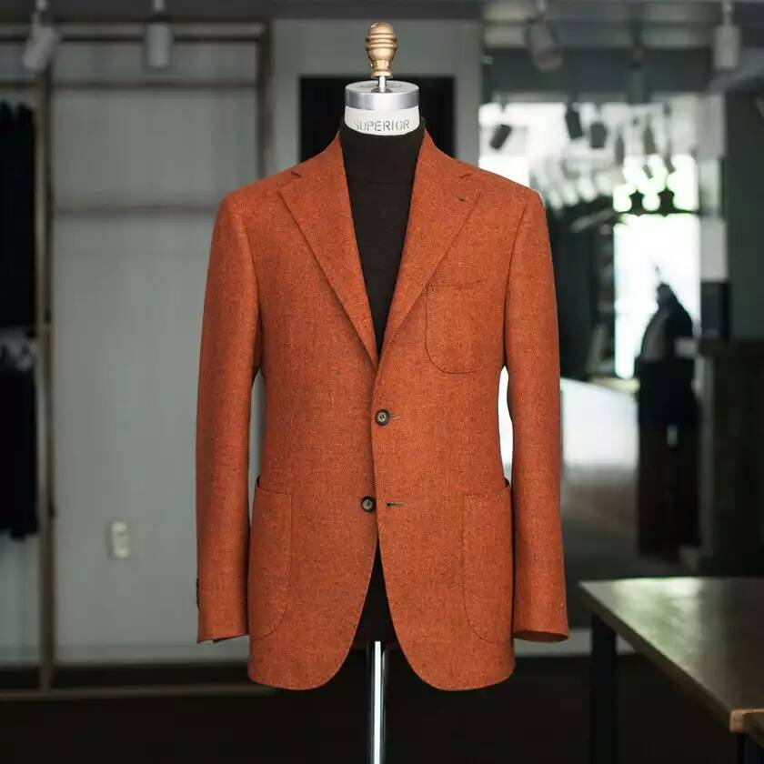 MTM men suit Tailor made to measure Plain cashmere wool Men's suit in china