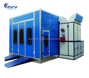 Hot sale CE approved car paint mixing machine/auto painting oven/car spray oven bake booth