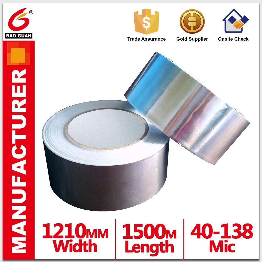 Anti ageing and High Quality Pure aluminium foil tape