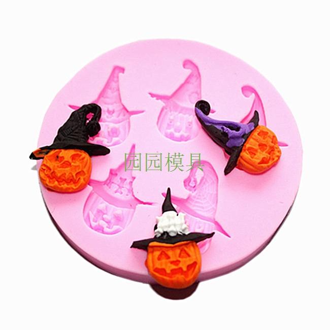 Fondant Pumpkin Cake Topper