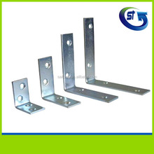 China wholesale 90 degree custom made right angle galvanized steel shelf bracket