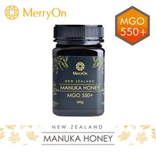 MerryOn 100% NZ MGO 550+ Manuka 500g coffee citrus jungle honey