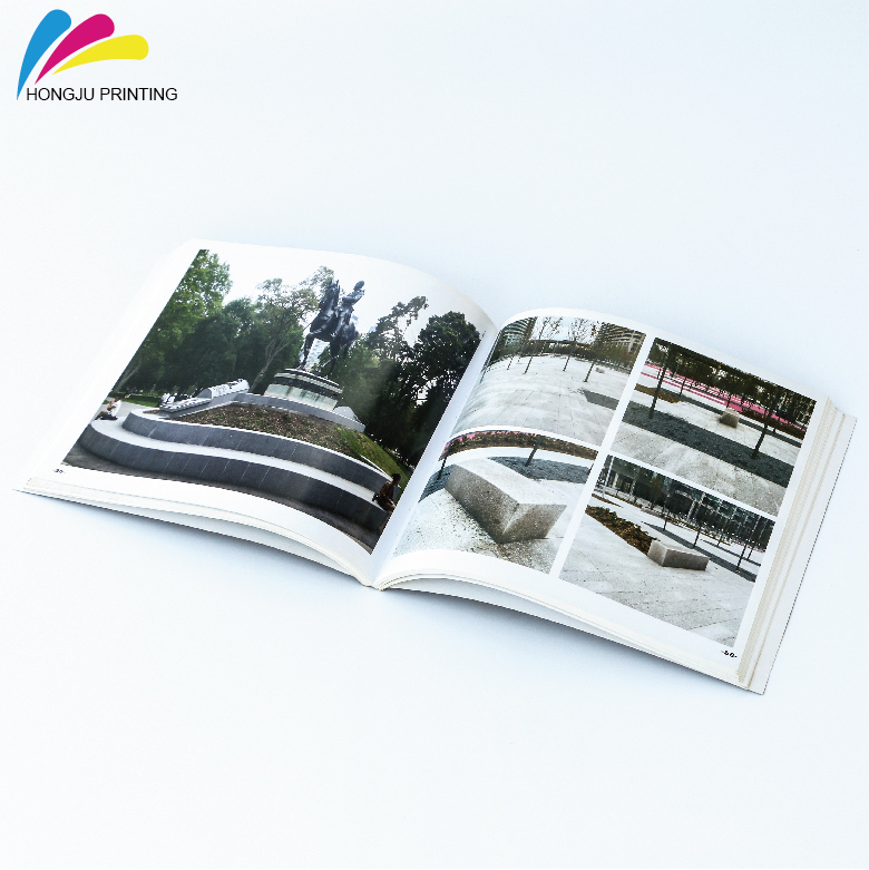 customized color recyclable paper cheap magazine printing