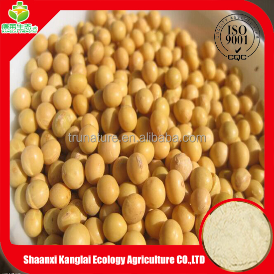 100% Pure nautral Soybean Isoflavones Extract P.E powder with wholesale price