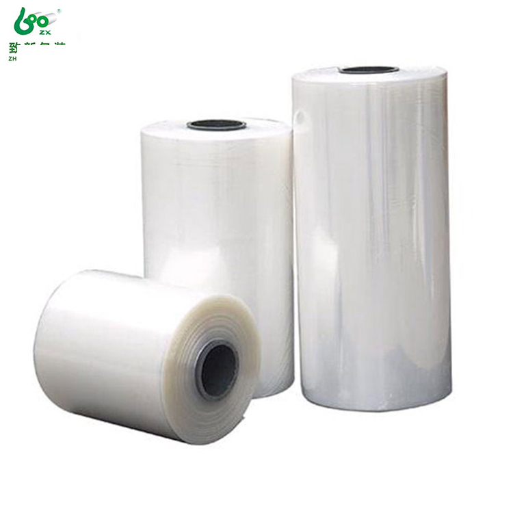 Voedsel plastic film roll transparante pvc krimpen mouw film in roll