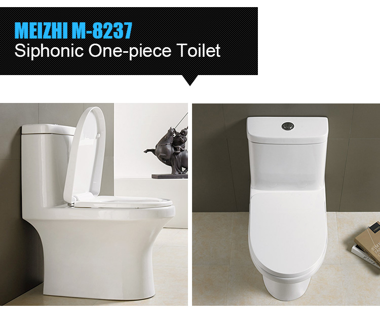 Prefab toilet bathroom porcelain s-trap toillet for sale