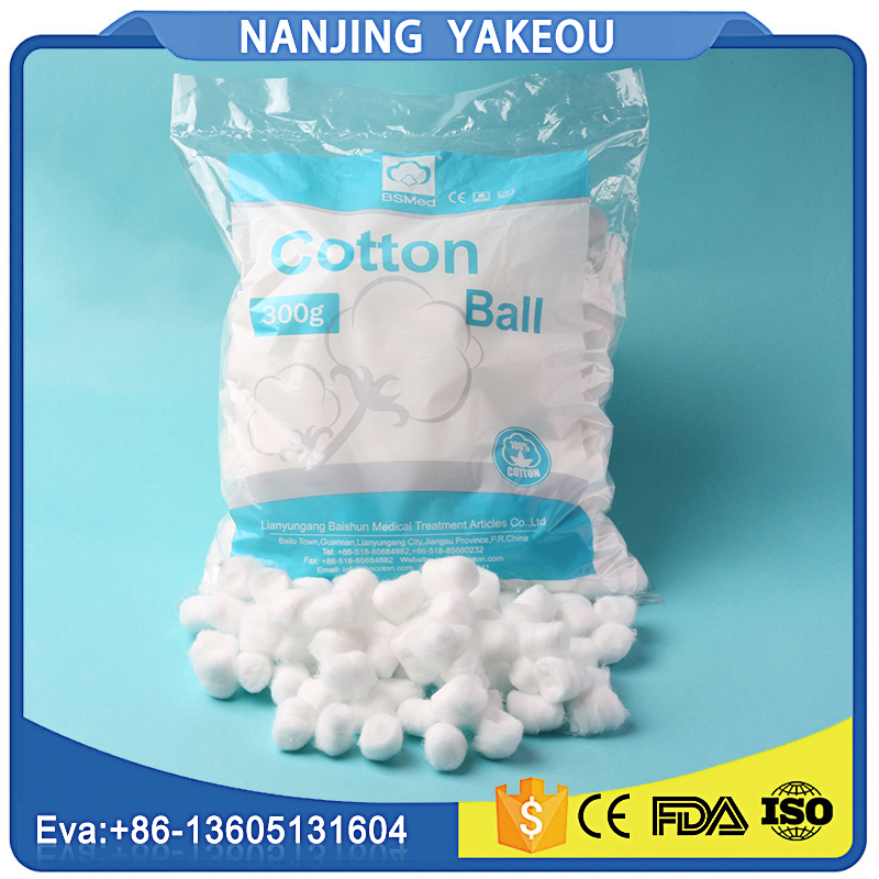 bulk 100 organic hospital use cotton balls