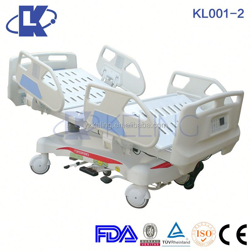 KL001-2 Electric Hydraulic Medical Bed,,Medical Hydraulic Bed,Hospital Electric Hydraulic Multi-functional Bed