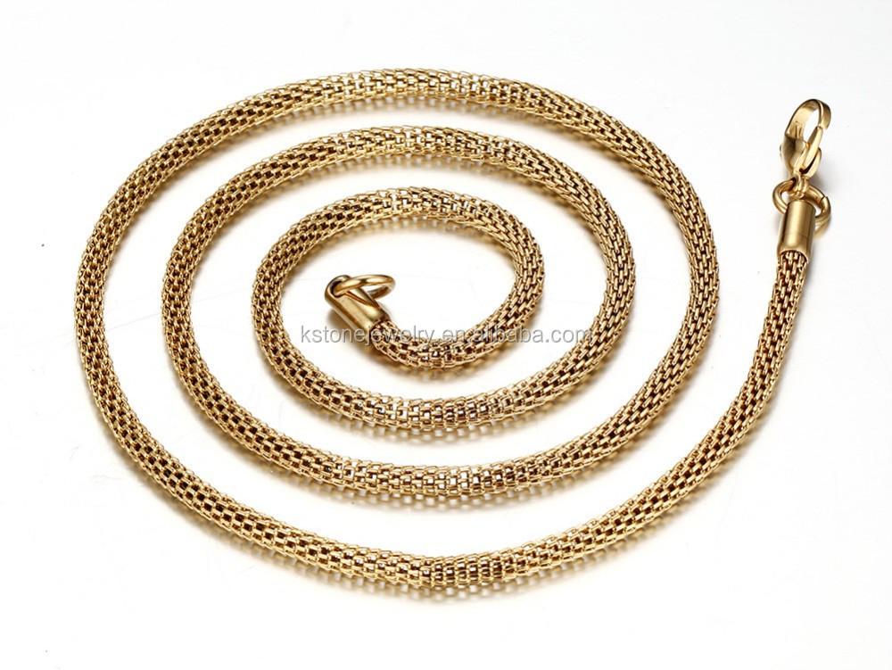KSTONE Dubai new gold chain design for men stainless steel gold ...