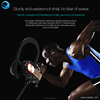 2017 New IPX7 Waterproof Stereo In-Ear soft silicon and Expandable foam ear tips Wireless Sport Mini Bluetooth headphone