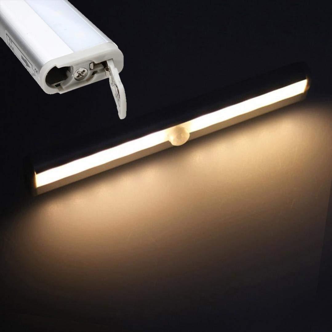 4 LED Light Lamp PIR Auto Keyhole Led Sensor Motion Detector Wireless by Buyincoins