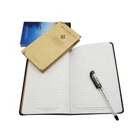 Customized Handmade Leather Cover Writing Travelers Notebook Journal Printing