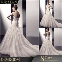 High Quality Latest informal wedding dress